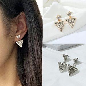 Jewelry - Triangle Ear Jackets Earrings